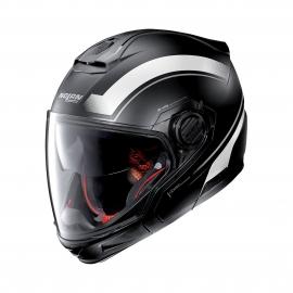 Moto helma Nolan N40-5 GT Resolute N-Com Flat Black 20