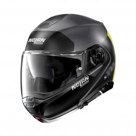 Moto helma Nolan N100-5 Plus Distinctive N-Com Flat Lava Grey 25