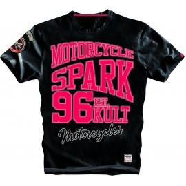 Pánské tričko Spark S011, černé