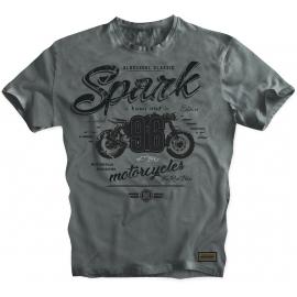 Pánské tričko Spark S 018, šedé