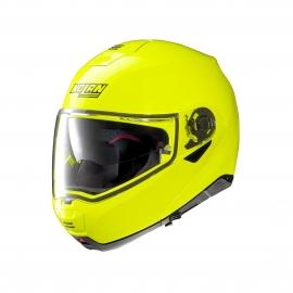 Moto helma Nolan N100-5 Hi-Visibility N-Com Fluo Yellow 22