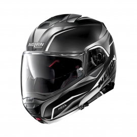 Moto helma Nolan N100-5 Balteus N-Com Flat Black 41