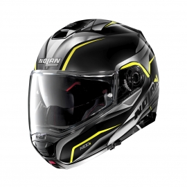 Moto helma Nolan N100-5 Balteus N-Com Flat Black 43