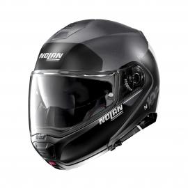 Moto helma Nolan N100-5 Plus Distinctive N-Com Flat Lava Grey 23