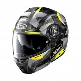 Moto helma X-Lite X-1004 Ultra Carbon Dedalon N-Com Glossy Black 18