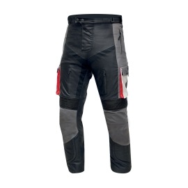 Pánské textilní kalhoty Cyber Gear Tour Long šedé - S