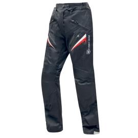 Dámské textilní moto kalhoty Cyber Gear Monica  černo-červeno-bílé - 2XS