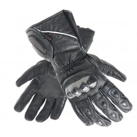 Pánské kožené moto rukavice Spark Arena, černé - 2XL