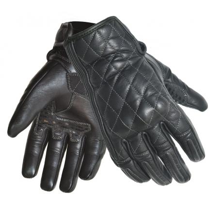 Dámske kožené moto rukavice Spark Lady Isabelle, čierne