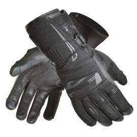Pánske textilné moto rukavice Spark Globe, čierne