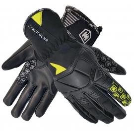 Pánske textilné moto rukavice Cyber Gear Pint čierne