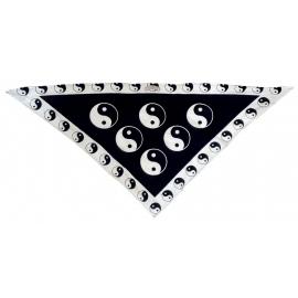 Trojcípou šatka motív Jing Jang