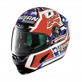 Moto helma X-Lite X-803 Replica C.Stoner Metal White 14