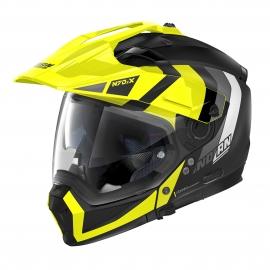 Moto helma Nolan N70-2 X Decurio N-Com Flat Black 30