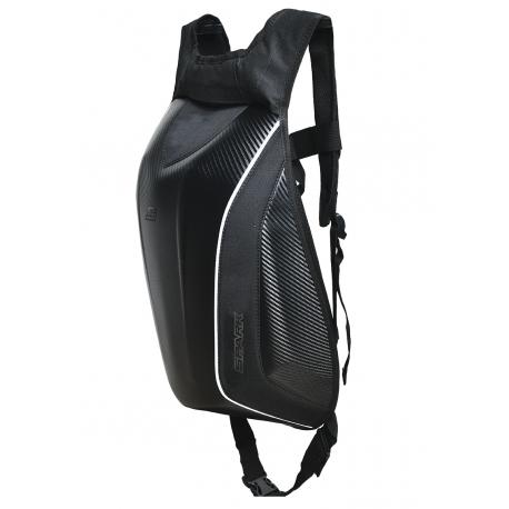 Aerodynamický batoh Spark BP17 na motorku, imitace carbonu
