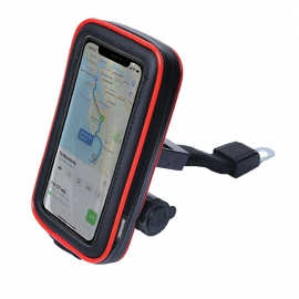 "Pouzdro Spark MTH1-63R na mobil ""6,3  s držákem a USB nabíječkou"