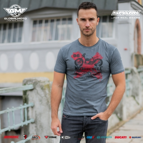 Pánské tričko Spark S 017, šedé