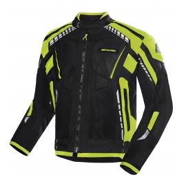 Pánská textilní moto bunda Spark Atmos, fluo