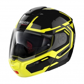 Moto helma Nolan N90-3 Driller N-Com Glossy Black 26