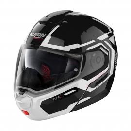 Moto helma Nolan N90-3 Driller N-Com Glossy Black 24