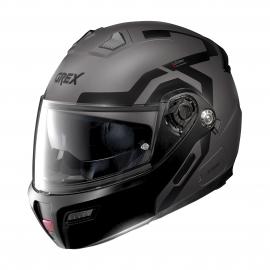 Moto helma Grex G9.1 Evolve Crossroad N-Com Flat Lava Grey 40