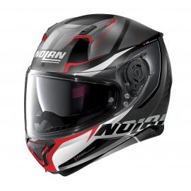Moto helma Nolan N87 Miles N-Com Flat Lava Grey 87