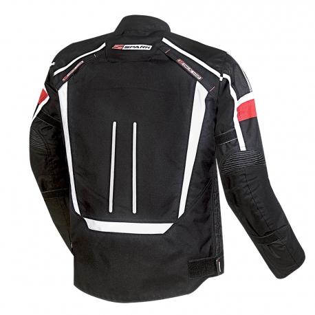 Pánska textilná moto bunda Spark Mondo Black
