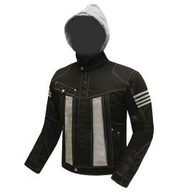 Pánska textilná moto bunda Spark Aero, Dark Grey