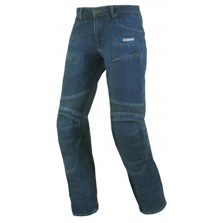 Pánske textilné moto nohavice Spark Hawk, modré