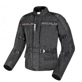 Pánska textilná moto bunda Spark Dura, Black