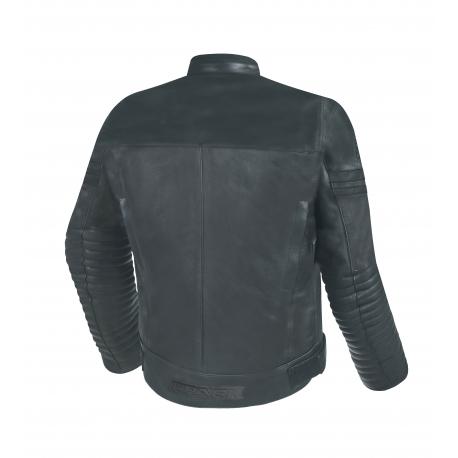 Pánska kožená moto bunda Spark Brono Evo II, Black