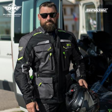 Pánská textilní moto bunda Spark Razor