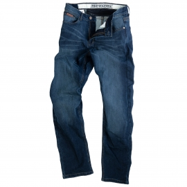 Pánske textilné moto nohavice Spark Boddie, modré