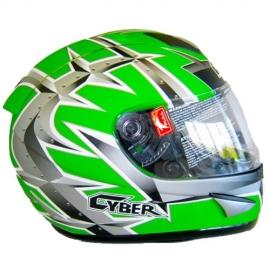 Moto prilba Cyber US-95 zelená matná