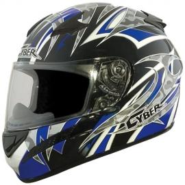 Moto helma Cyber US-98 modrá